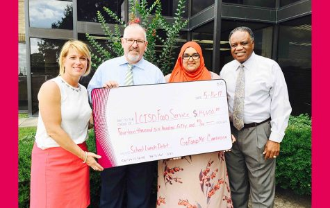 LCISD PTO President Raises $18,000 to Pay Off Student Lunch Debts
