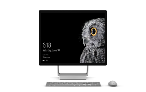 The Surface Studio isn't just big in size