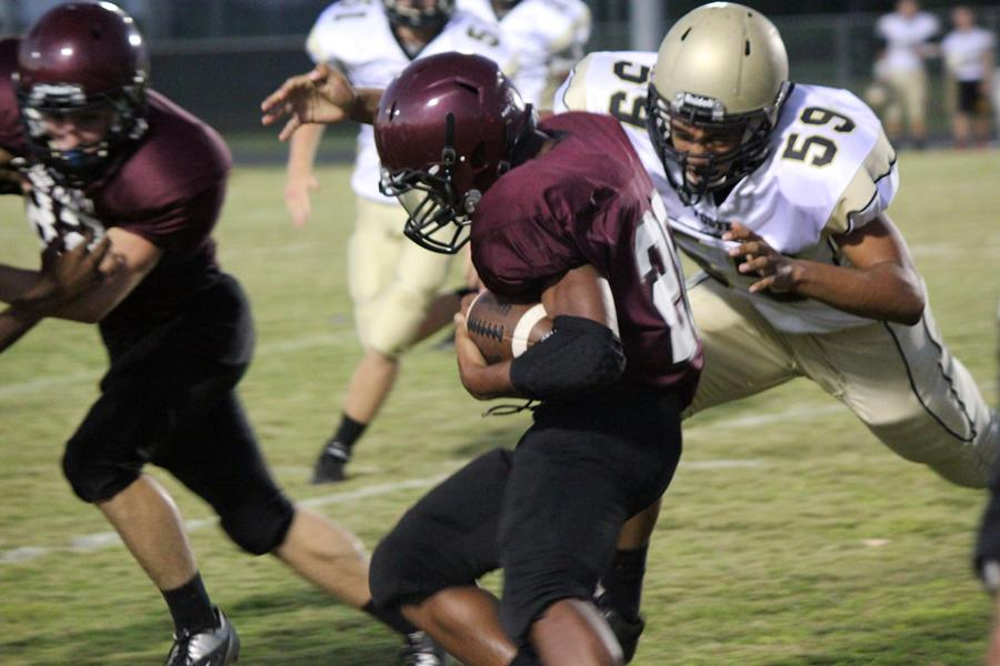 JV+Maroon+Football+Wins+First+District+Game+Against+the+Foster+Falcons