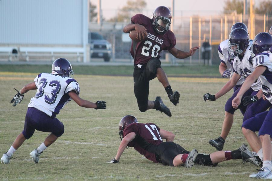 JV+Maroon+Football+Improves+to+6-1+After+Win+Over+Angleton