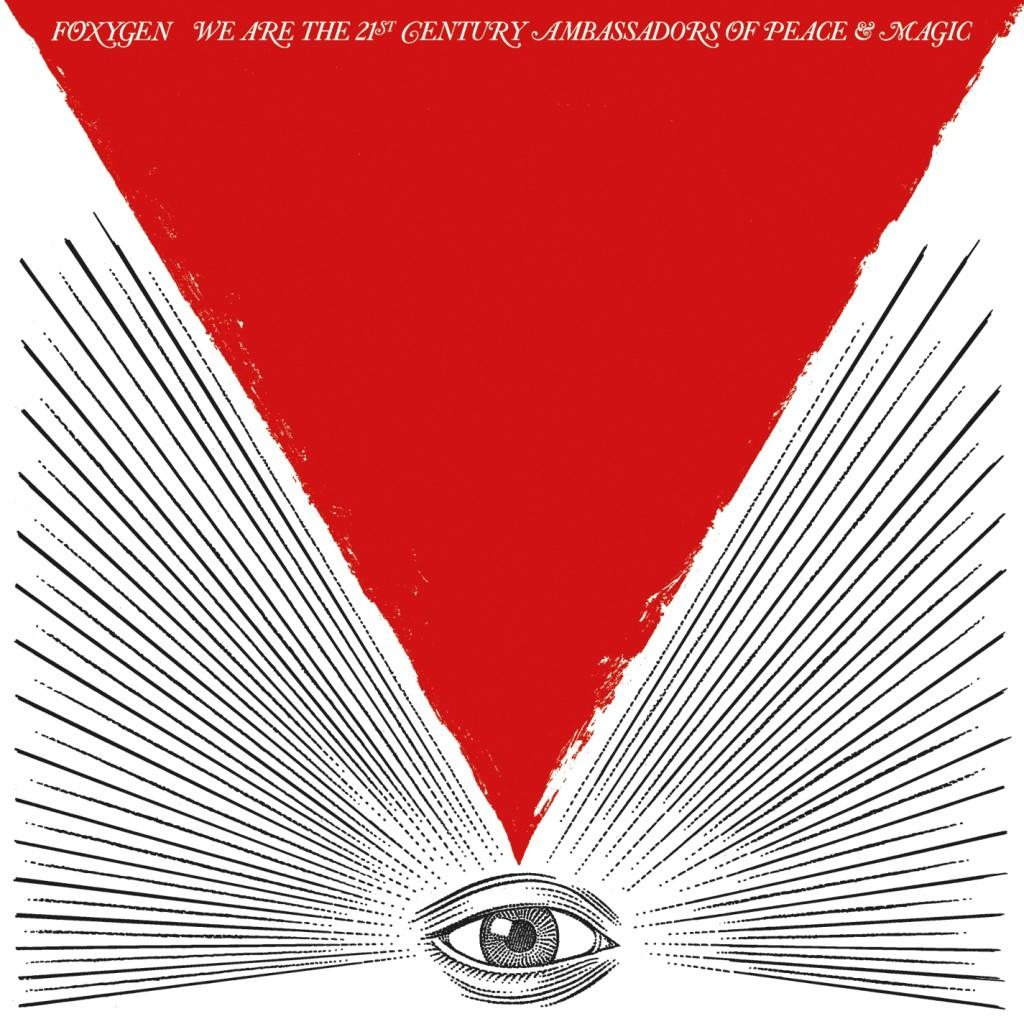 """Foxygen - We are the 21st Century Ambassadors of Peace and Magic /// Despite a very short 37 minutes, Foxygen's newest album is an upbeat and cheerful listening experience. Beginning with the track titled """"In the Darkness,"""" and on throughout, Foxygen provides excellent songwriting, head-nodding sounds, and a playful tone. A highlight of the album is the third track """"On Blue Mountain"""", an almost six minute long song in which Foxiygen shifts through various melodies (as they do throughout several parts of the project) and creates a psychedelic journey in a single song. Following this is the catchy single,"""