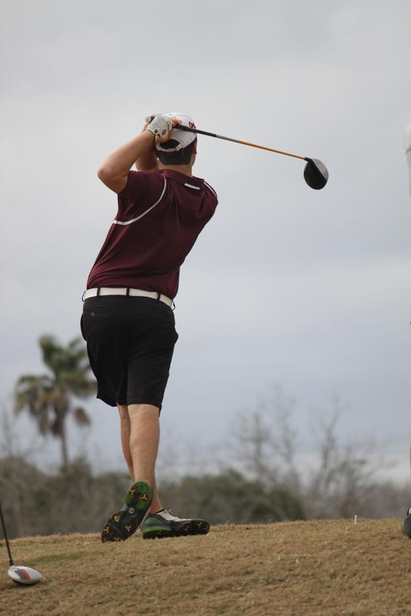 Varsity+Golf+Finishes+Season+at+University+of+Texas+State+Tournament