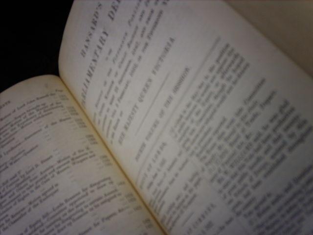 Hansard%27s+Parliamentary+Debates%2C+1853