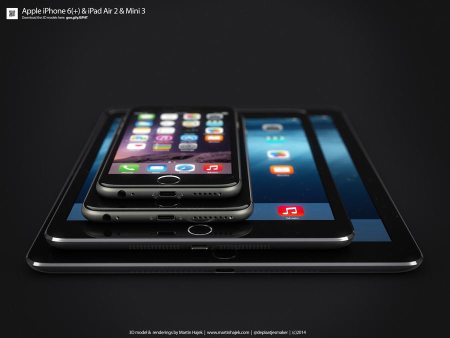 Apple+Introduces+iPad+Air+2+and+iPad+Mini+3