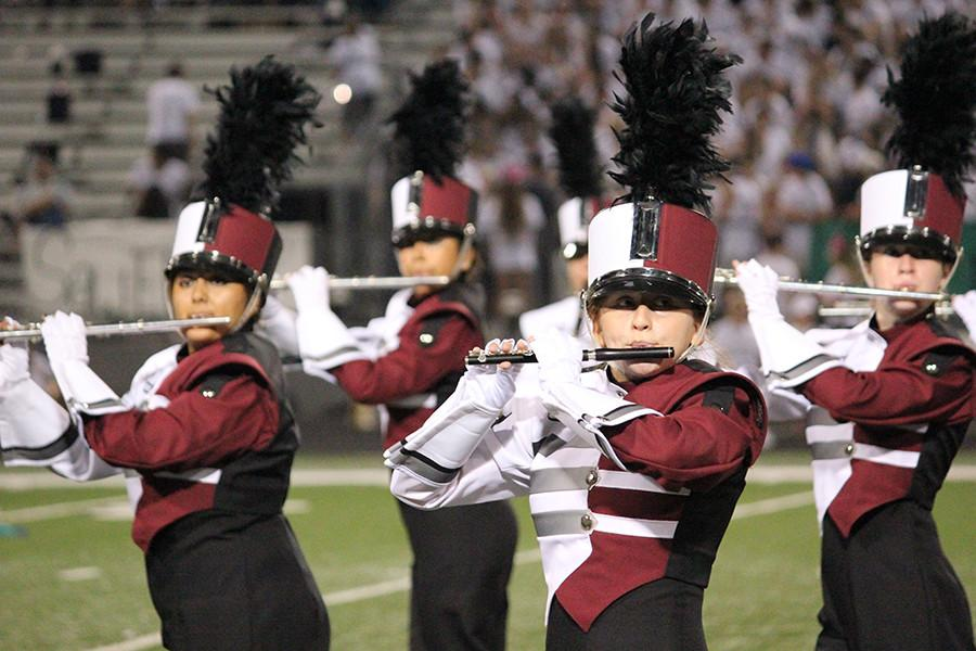 George Ranch marching band