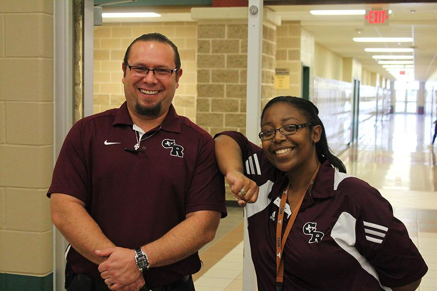 Assistant Principles Mr.Croft and Mrs. Johnson