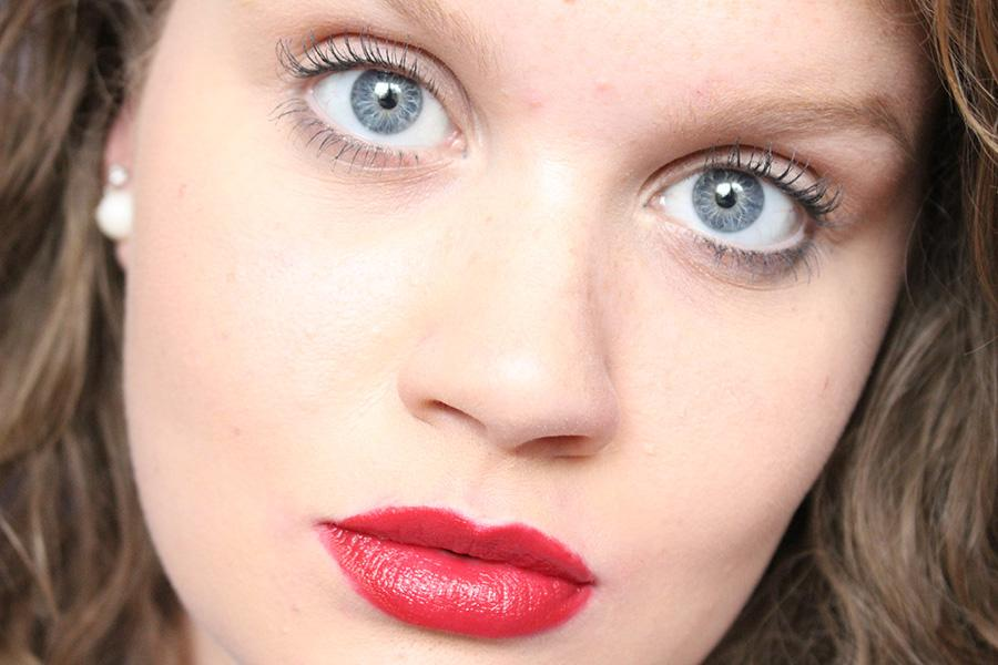 Now you are ready to hit all of your holiday parties with a classic red lip.