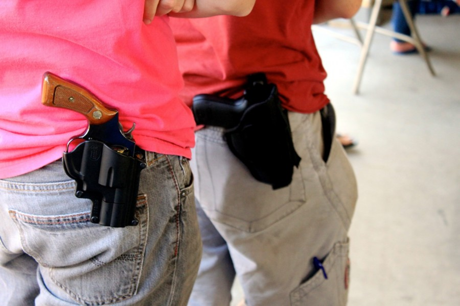 Open carry is now legal in Texas