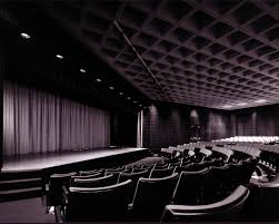 An auditorium is like a second home to a devoted theatre student.