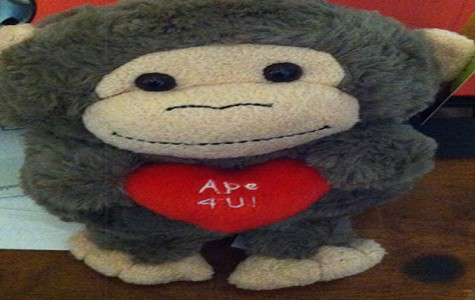 Ape 4 U! Monkey for him on Valentines day