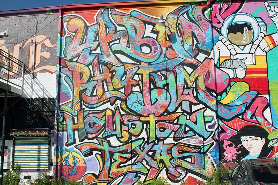 Houston Graffiti Art