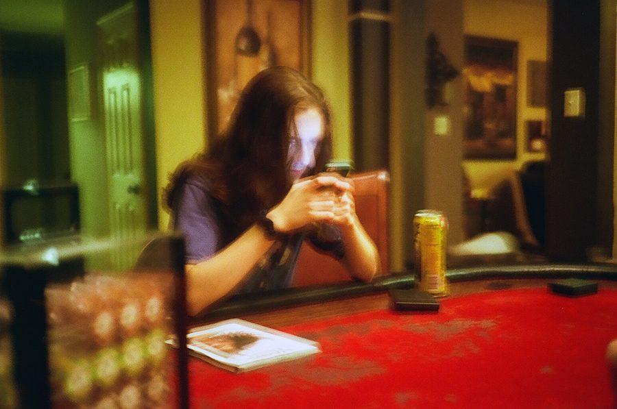 After+winning+his+third+hand+in+poker+he+enjoys+a+nice+Arizona+Sweet+Tea.