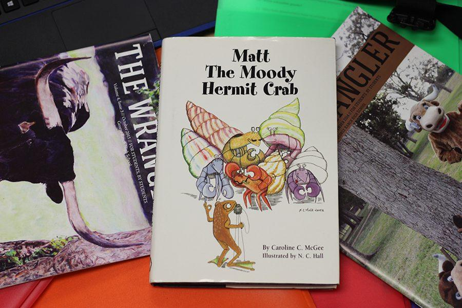 Matt the Moody Hermit Crab is a book about a young neurodivergent crab