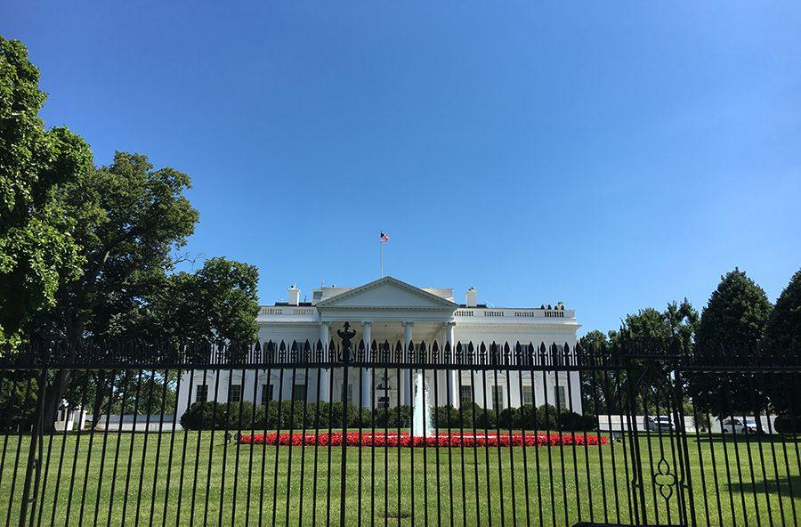 The construction of the White House started in 1792 and opened in 1800.