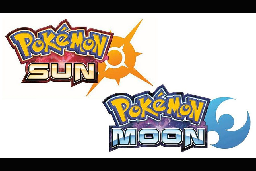 Logo designs for Pokemon Sun and Moon