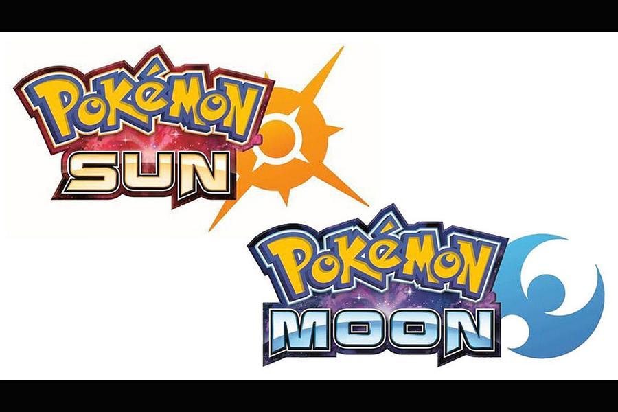 Logo designs for Pokemon Sun and Moon