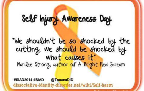 TraumaAndDissociation http://dissociative-identity-disorder.net/wiki/Self-harm Trauma and Dissociation