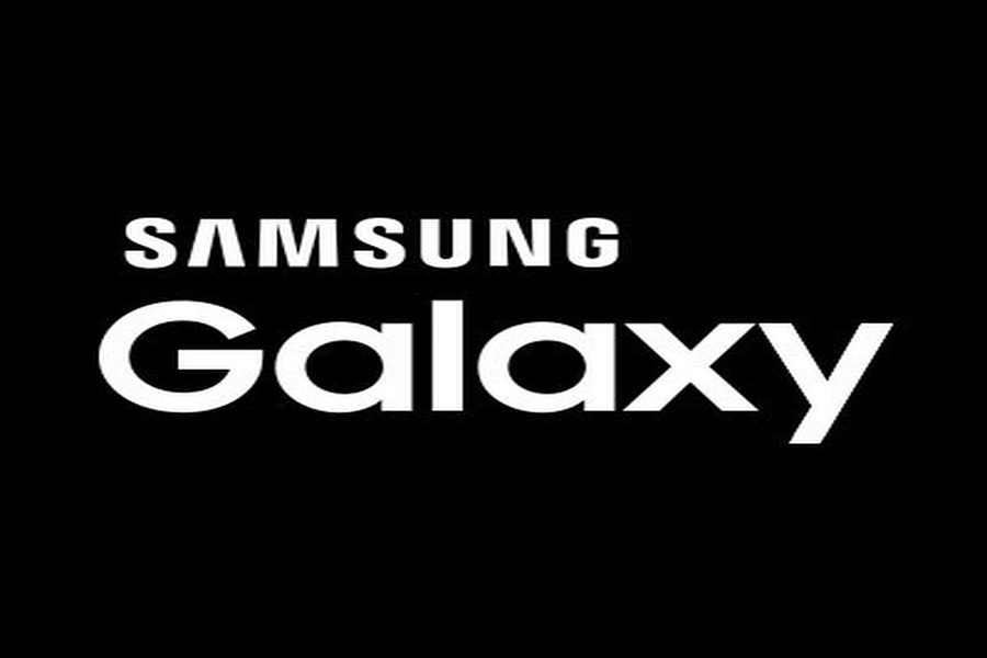The logo for the Galaxy line of Samsung phones.
