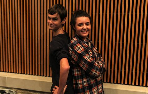 Sierra Rozen, Jack's Mother, and Ethan Brandt, Rapunzel's Prince, are excited to share Into the Woods with everyone.
