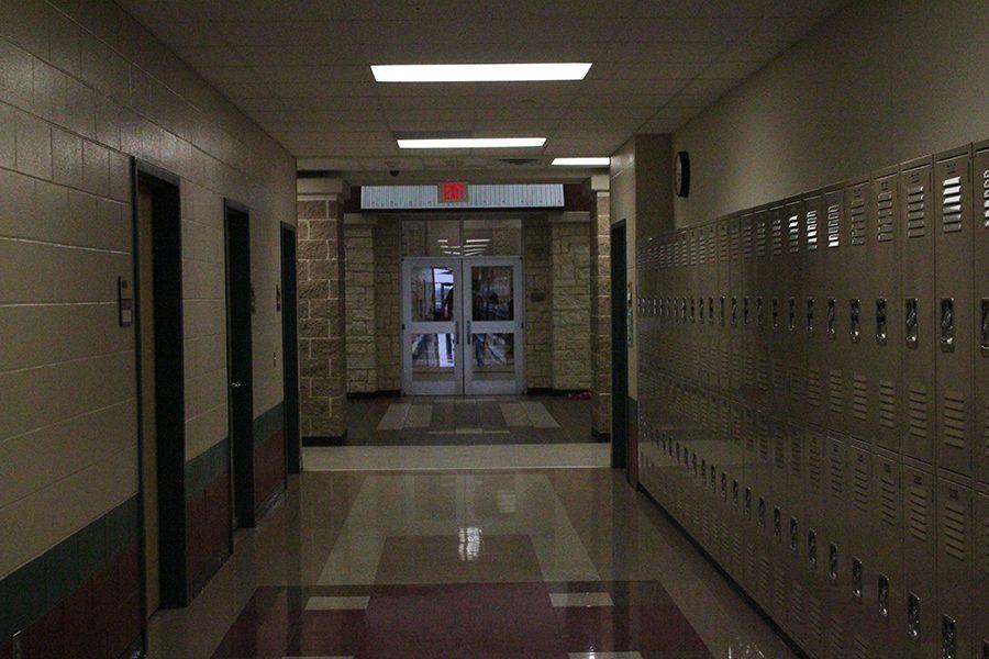A hallway of George Ranch.