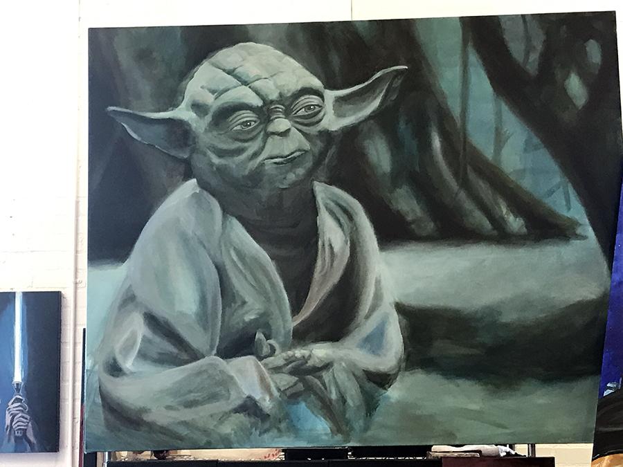 Jay Ybarra Art theurbaneasel@gmail.com www.jayybarra.com