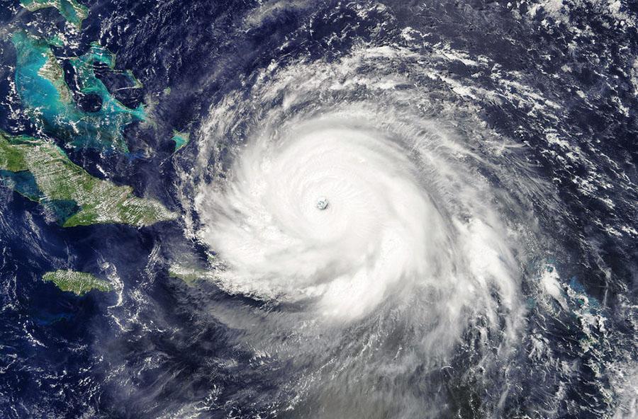 Hurricane Irma was over 400 miles wide.