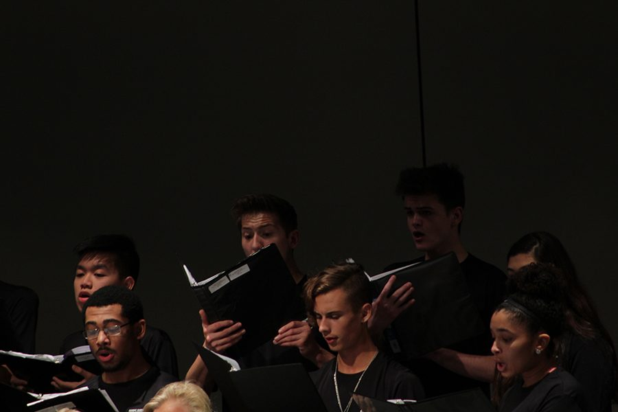 Ethan shows his face and emotions in singing one of the regional pieces.