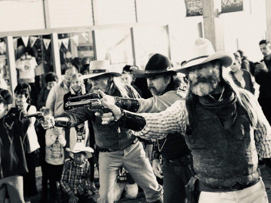 Cowboys gone wild.