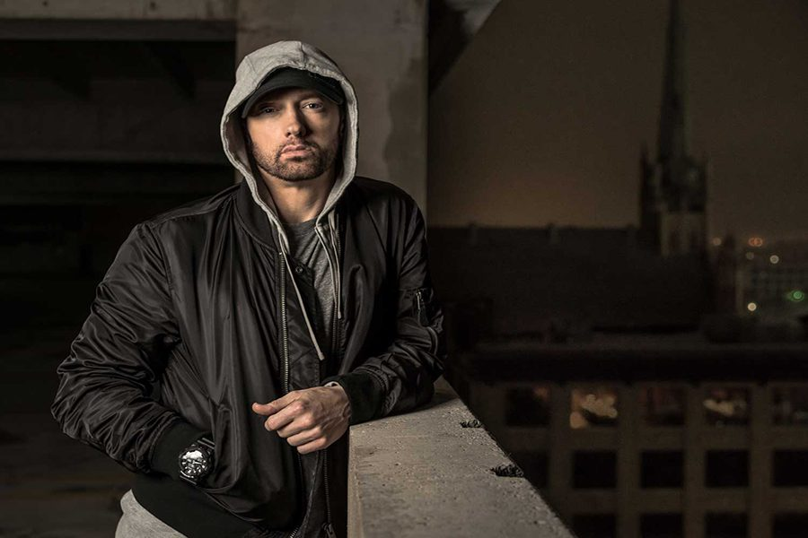 Rapper Eminem as of October this year.