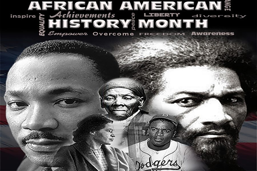 According to the Association for the Study of African American Life and History, Black History Month dates back to 1915. Carter G. Woodson, founder of the ASALH and Black History Month, chose the month of February for the observance because it includes the birthdays of Abraham Lincoln and Frederick Douglass. (U.S. Air Force graphic by Tommy Brown/Released)