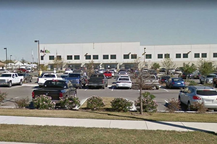 A bomb exploded while at a FedEx facility in Schertz, Texas