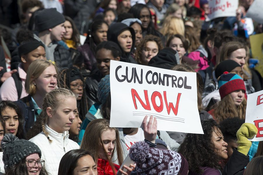 Students are protesting for gun control across the country.
