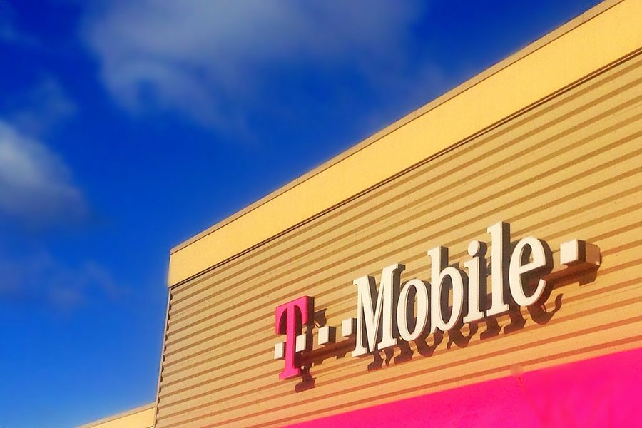 Old T-Mobile store to signify that times are changing