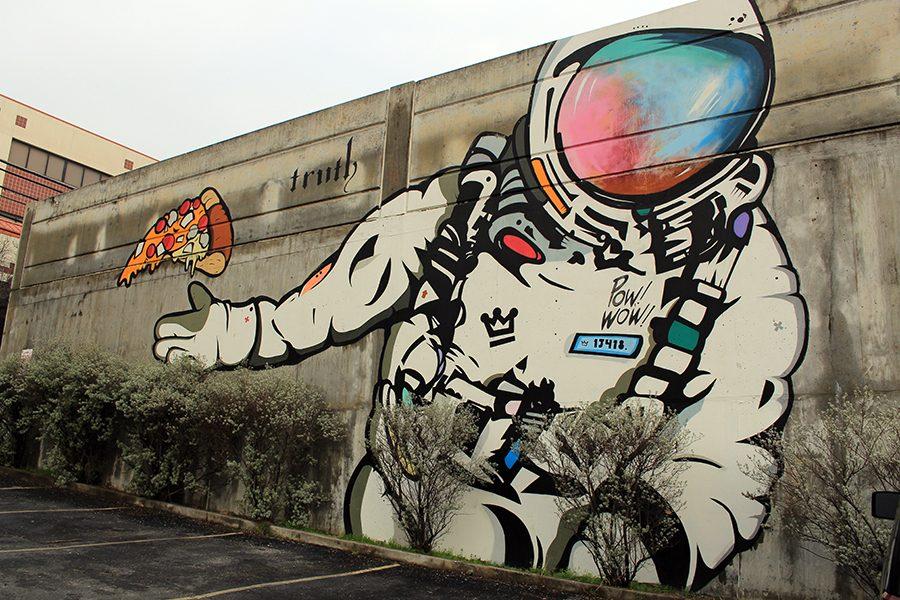 Graffiti in Austin