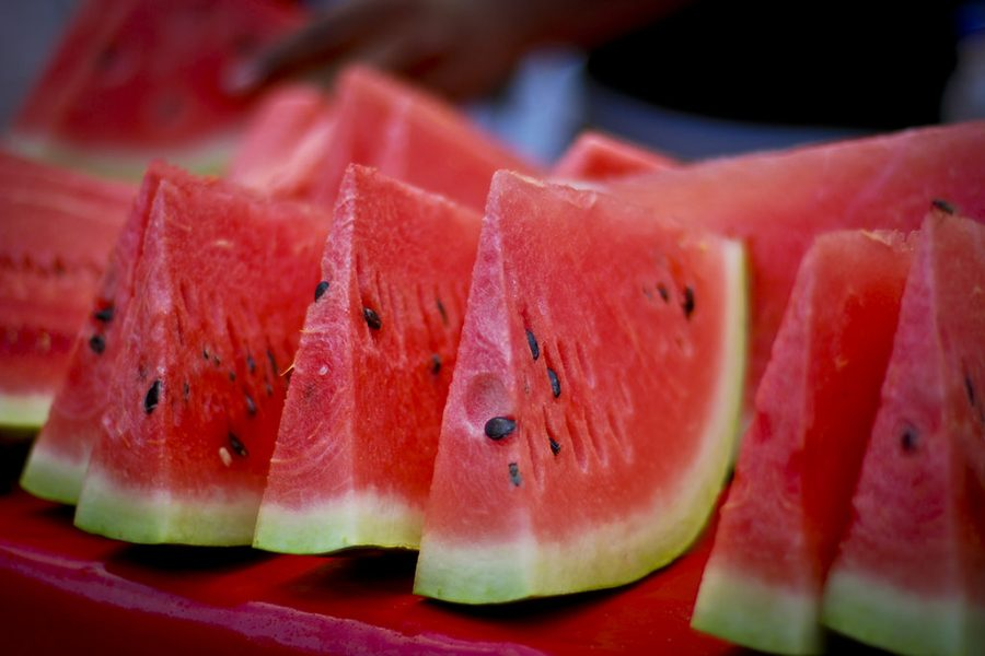 Some tasty watermelon to go with your listening experience