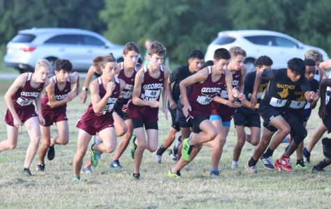 Varsity Boys Cross Country District Meet