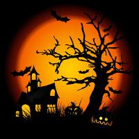 A Halloween Cartoon House