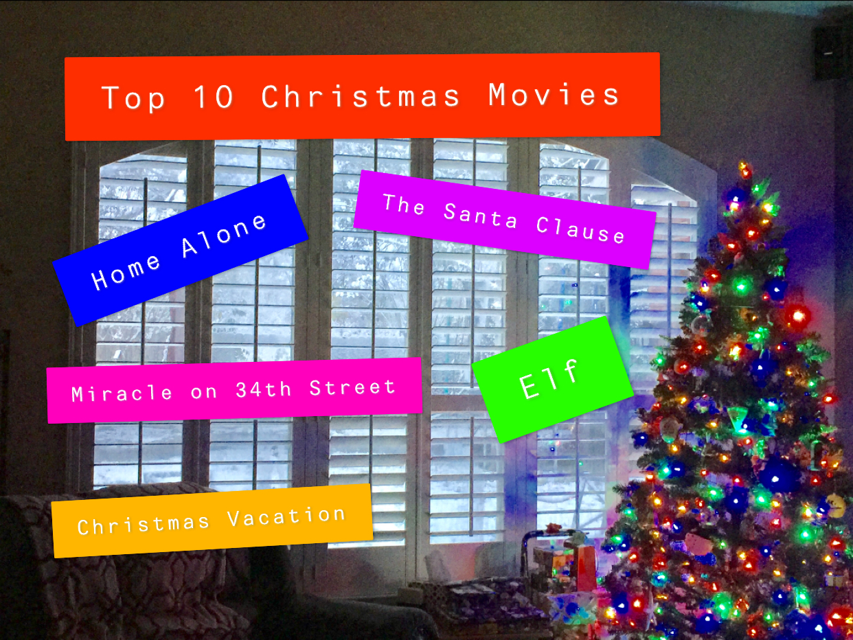 Some Christmas movies you need to watch.