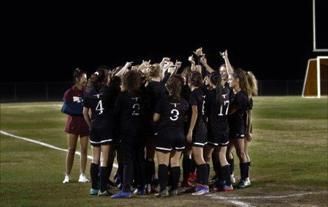 Varsity Girls Soccer v. Travis
