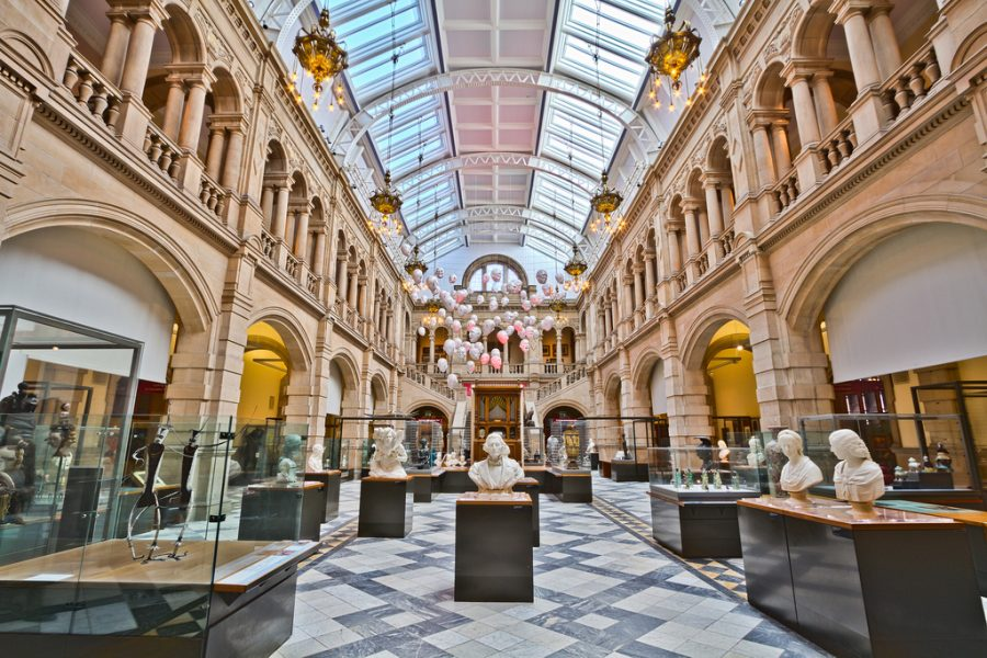 Wandering through a museum allows one to escape form the hectic nature of Valentine's Day and ponder over exhibitions while being in the presence of a loved one