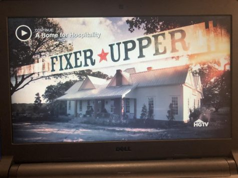 Fixer Upper, a tv show on HGTV.