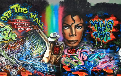 One of the many murals  created upon Michael Jackson's death.