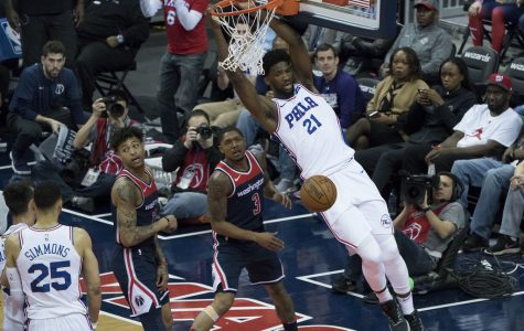 76ers at Wizards 2/25/18