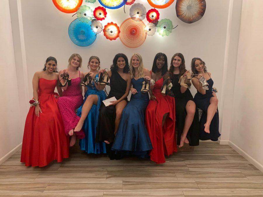 Ruhi Patel (12), Aria Patel (12), Hailey Reaves (12), Josephine Chi (12), Alyssa Heikkila (11),  Sophia Behar (12)