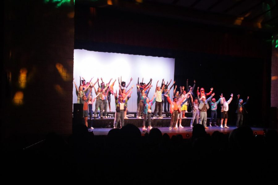 The choir concert was held in the auditorium.