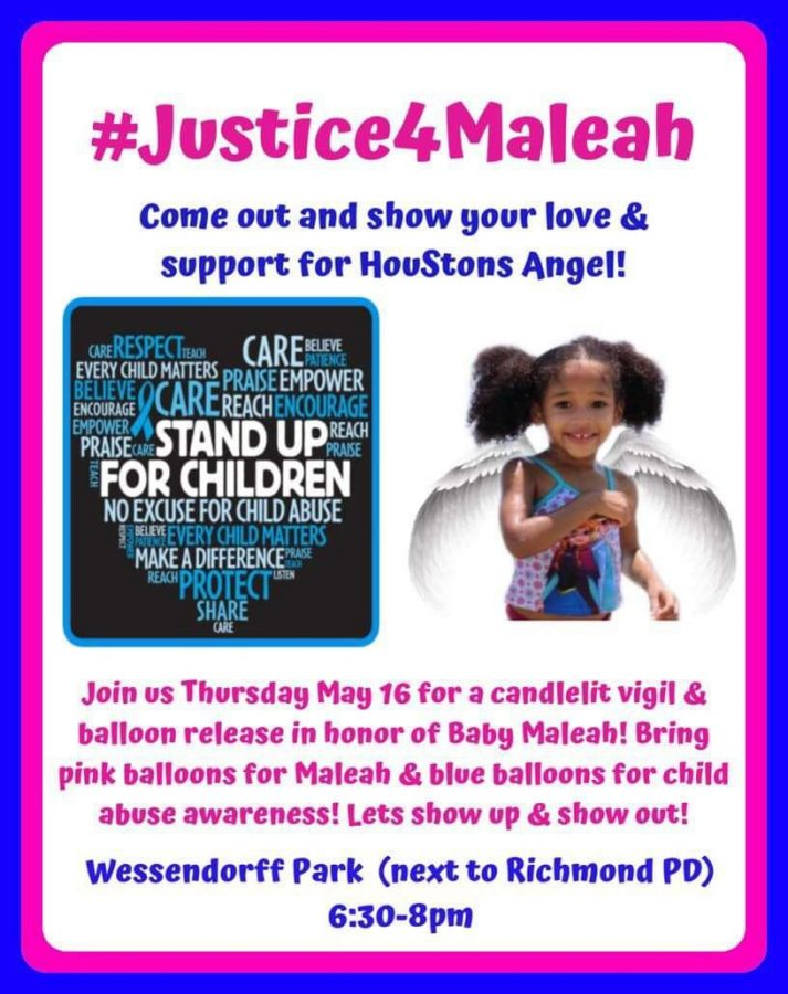 Join in the rally for Maleah
