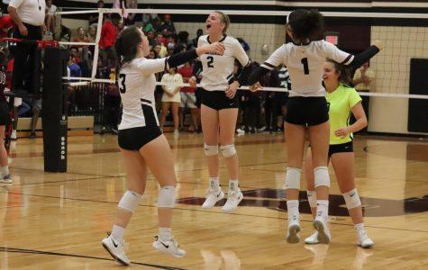 Varsity Volleyball v. Tompkins