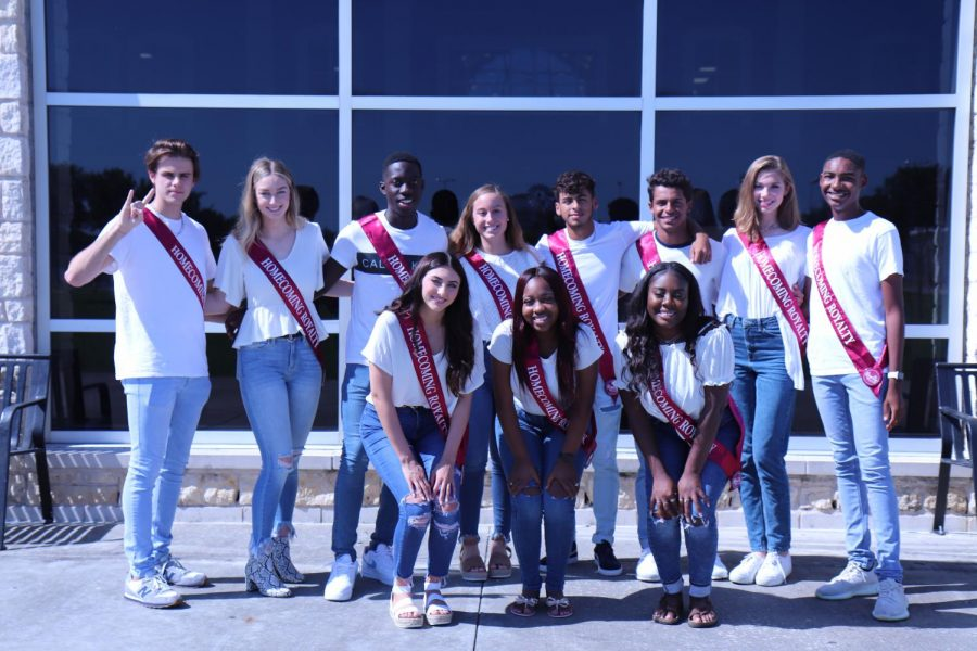 The 2019 Students Homecoming Court!