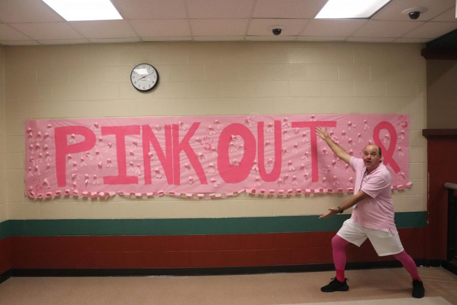 MR TOUPS is the pink out king.