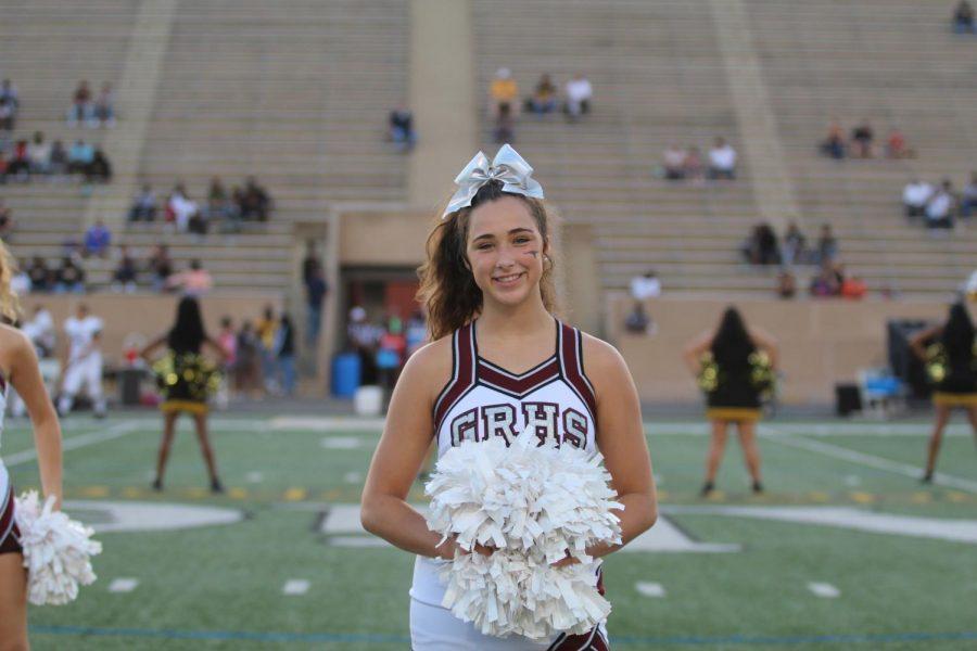 Co-Captain Lexi McMillan (12)